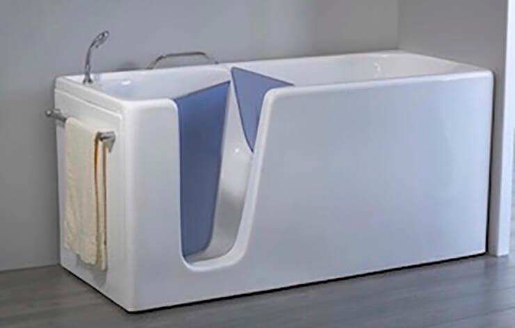 Acryltech - Produzione vasche con sportello